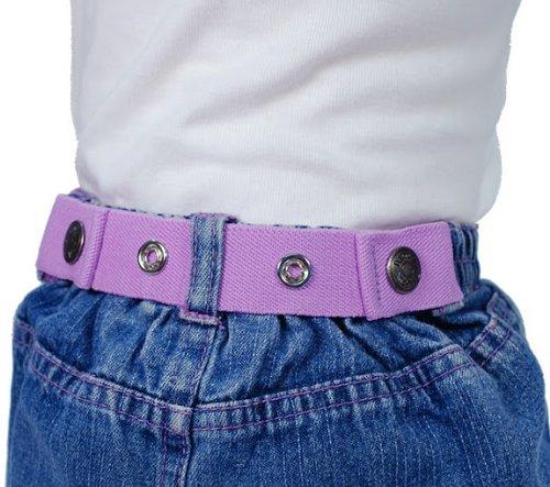 Dapper Snapper Baby & Toddler Adjustable Cinch Belts ~ Many Colors (Lavender)