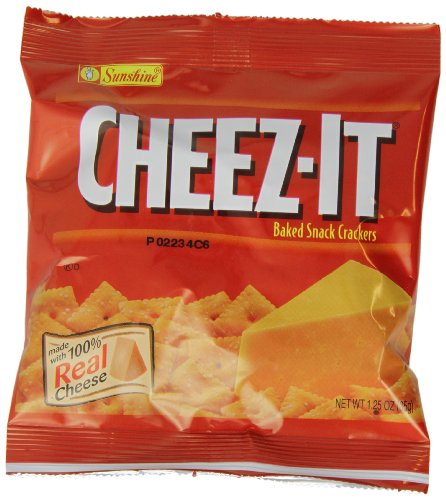 Cheez-It, Original flavor, 1.25oz (Pack of 20)
