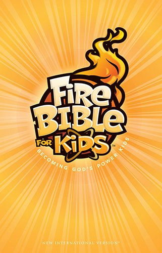 Fire Bible for Kids New International Version Hardcover