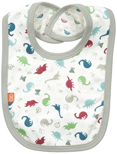 Magnificent Baby Baby-Boys Dino Expedition Reversible Bib