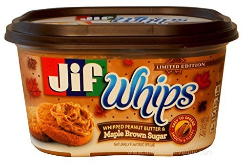 Jif Whips Whipped Peanut Butter & Maple Brown Sugar - Limited Edition (2 Pack)