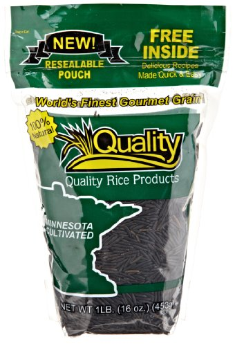 Quality Wild Rice, 16-ounce (Pack of 3)