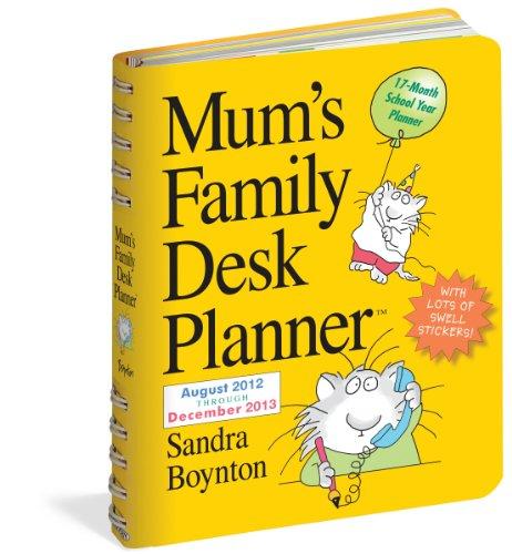 Mum's Family Desk Planner® 2013