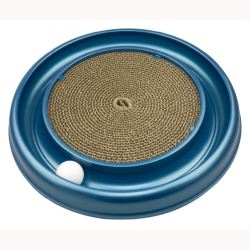 Bergan 70128 Turbo Scratcher Cat Toy, Colors May Vary