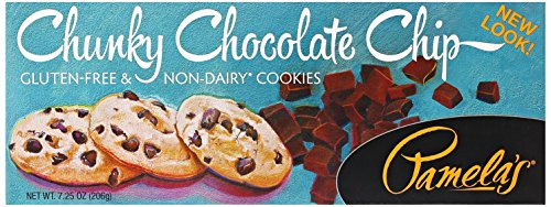 Pamela's Products, Chunky Chocolate Chip Cookies, 7.25 oz