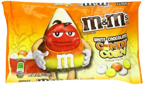 M&Ms Candy Corn White Chocolate Candies, 8.0-Ounce