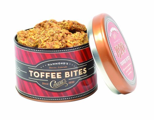 Hammond's Candies Signature Tin with Almond Toffee