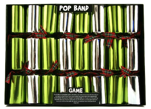 Pop Band Game Christmas Crackers