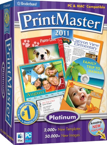 PrintMaster 2011 Platinum SB - Old Version