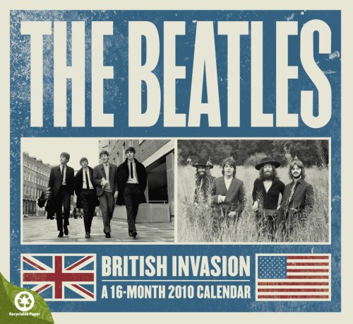 The Beatles 2010 Wall Calendar