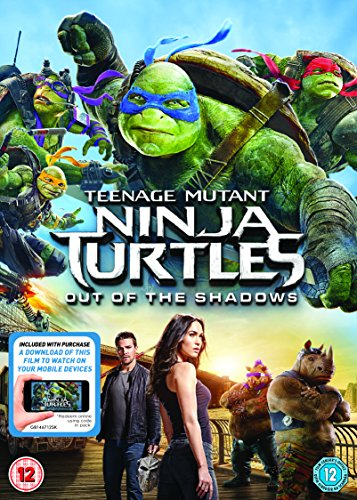 Teenage Mutant Ninja Turtles: Out Of The Shadows (DVD + Digital Download) [2016]