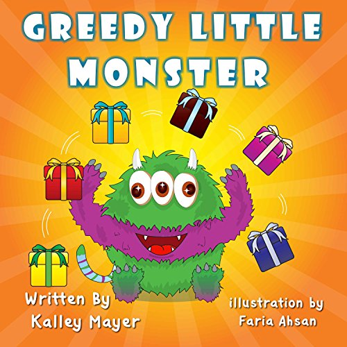 Greedy Little Monster: Beautifully Illustrated Children's Book for Beginner Readers (Ages 2-6): Going to Sleep Picture Book (Little Monster Series for Beginner Readers 5)