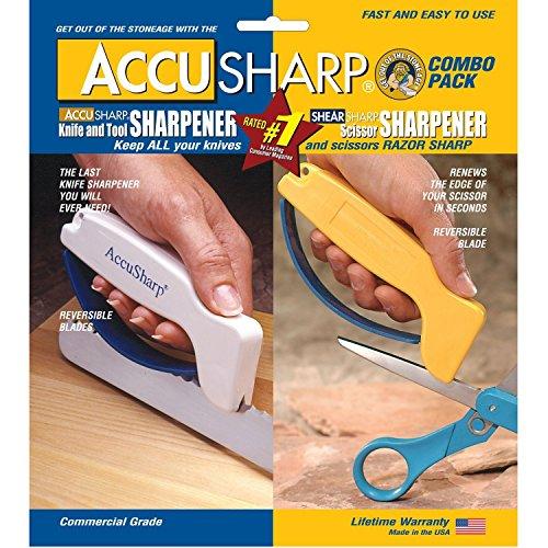 Accusharp Knife Sharpener and ShearSharp Scissor Sharpener