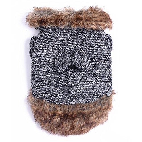 BINPET Winter Soft Warm Clothing Coat For Pet Dog - Small