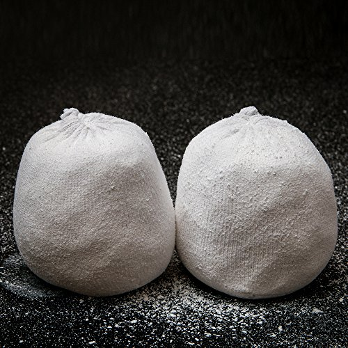 2 Chalks Balls by Zivalo (3 oz. each) - For Rock Climbing, Bouldering, Gymnastics, CrossFit and Weightlifting