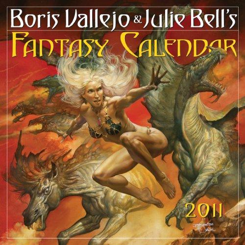 Boris Vallejo & Julie Bell's Fantasy Calendar 2011