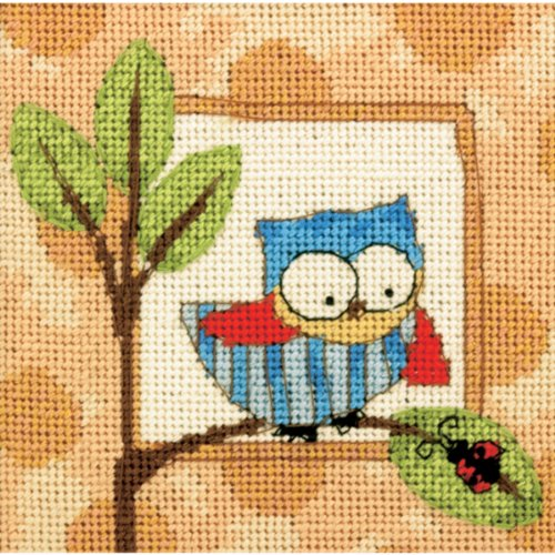 Dimensions Needlecrafts Needlepoint, Curious Owl