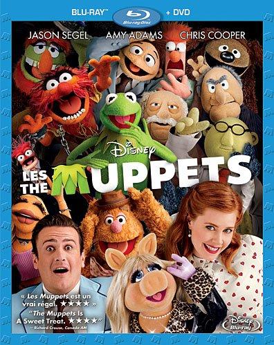 The Muppets (2-Disc Bilingual Combo Pack) [Blu-ray + DVD] (Sous-titres français)