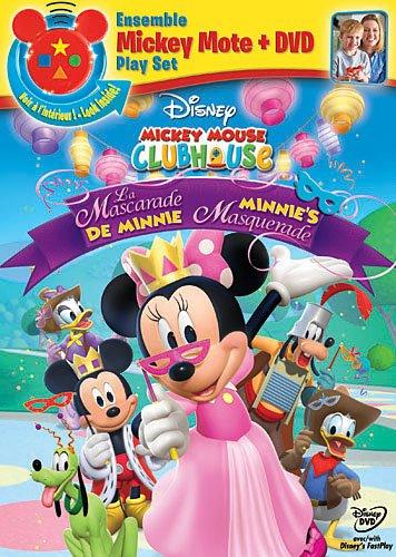 Mickey Mouse Clubhouse : La mascarade de Minnie / Minnie's Masquerade [DVD + MickeyMote] (Bilingual)