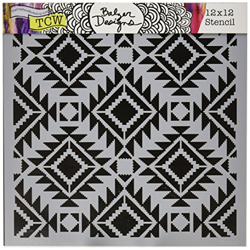 Crafters Workshop Rug Crafter's Workshop Template, 12 by 12