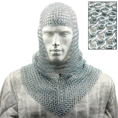 Battle Ready Chain Mail Coif Armor