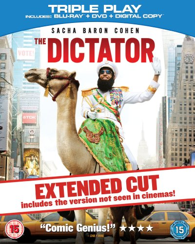 The Dictator - Triple Play (Blu-ray + DVD + Digital Copy) [Region Free]