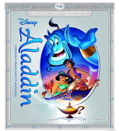 Aladdin (Édition Diamant - version française) [Blu-ray + DVD + HD numérique] (Bilingual)