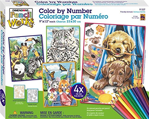 Dimensions Needlecrafts Paintworks/Pencil by Number