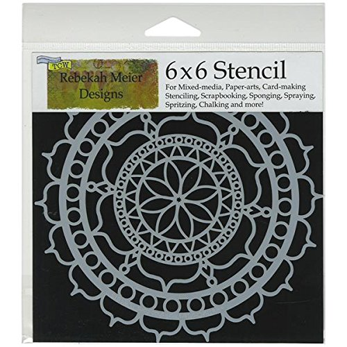 Crafters Workshop Template, 6 by 6, Rosetta