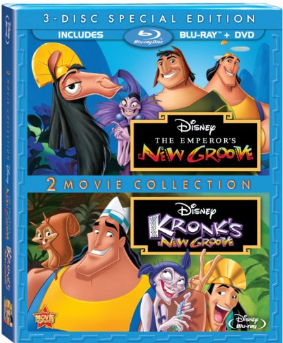 The Emperor's New Groove & Kronk's New Groove 2-Movie Collection [Blu-ray + DVD]