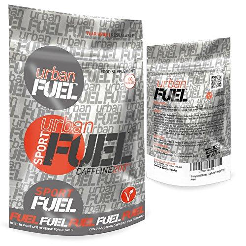 Urban Fuel Pure Caffeine Tablets 200mg Energy Pills For Men & Women (500 x 200mg Caffeine Pills)