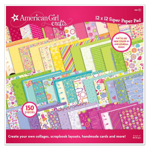 American Girl Crafts Super Paper Pad #2, 150 count