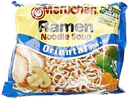 Maruchan Ramen Noodle Soup, Oriental Flavor, 3 ounce